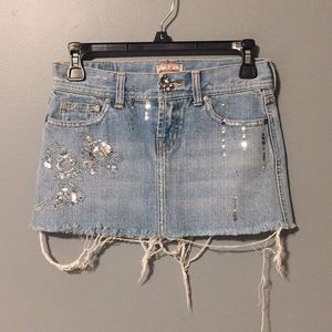 3for$20 abercrombie kids Jean skirt size 12